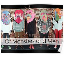 Of Monsters and Men Animal Heads Poster