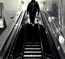 Penn Station Commuter  by robscifo