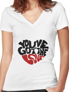 You've Got The Love Women's Fitted V-Neck T-Shirt