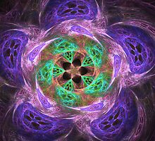 Motion in purple and green by CanDuCreations