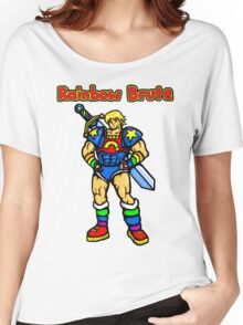Rainbow Brute Women's Relaxed Fit T-Shirt