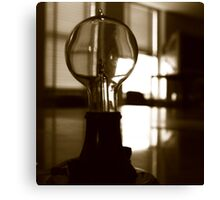 The Mazda Bulb Canvas Print