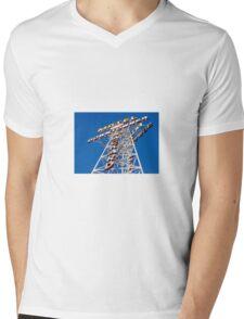 Downtowner Mens V-Neck T-Shirt