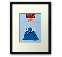 Cookie Jaws Framed Print