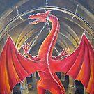 Dungeon Bound Dragon by dashinvaine