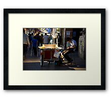 Long Hours Framed Print