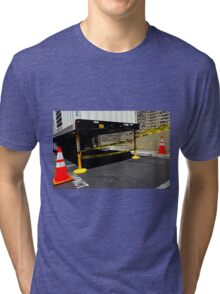Caution Compact Tri-blend T-Shirt