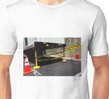 Caution Compact Unisex T-Shirt