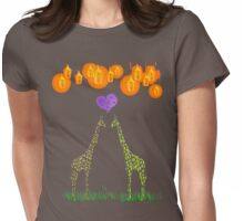 Love by Lamplight Womens Fitted T-Shirt