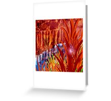 landscape country fall Greeting Card
