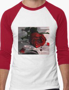 Every Rose Has It's Thorn Men's Baseball ¾ T-Shirt