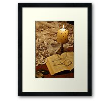 Turn of the Page Framed Print