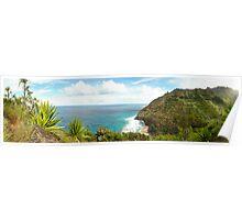 Na Pali coast, Kauai Poster