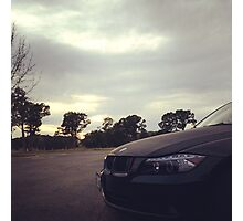 BMW Cloudy Image Photographic Print