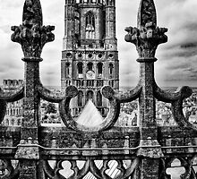 West Tower, Ely Cathedral by Simon Duckworth