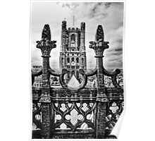 West Tower, Ely Cathedral Poster