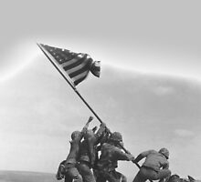 WWII Raising of the Flag by CrassService