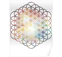 Heart of Orion | Flower of Life Poster