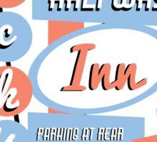 Dick's Halfway Inn Sticker