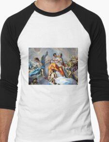 Art in Karlskirche in Vienna Men's Baseball ¾ T-Shirt