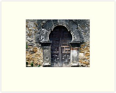 Mission Espada Door by Brian Gaynor