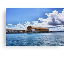 OLD SAN JUAN PIER Canvas Print