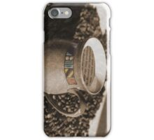 Mug of coffee and a good book iPhone Case/Skin