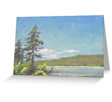 Clear Sky Greeting Card