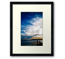 Father and Sons!  Framed Print