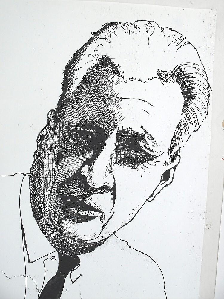 Portrait study 10 by Richard  Tuvey