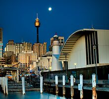 The Lighthouse Series: Pyrmont Pier by Paul Cons