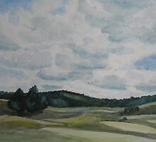 Clouds Over Boot Hill by JennyArmitage