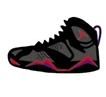 Air Jordan Retro 7 Photographic Print