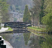 Canalside Reflections by Glen Allen