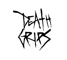 Death Grips (Black Logo) Photographic Print