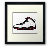 Air Jordan Retro 10 Framed Print
