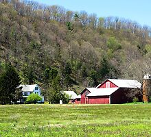 Red Barn, PA by R. Mike Jacobson