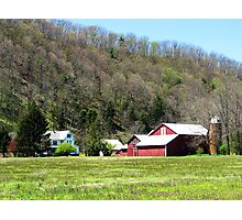 Red Barn, PA Photographic Print