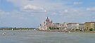 Cruising up the Danube in Budapest. by Graeme  Hyde