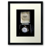 Grandfather Oxley's Watch Framed Print