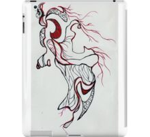Scream into the dark iPad Case/Skin