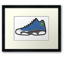 Air Jordan Retro 13 Framed Print