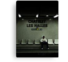 Chatelet Les Halles Canvas Print