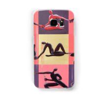 Yoga Positions Samsung Galaxy Case/Skin