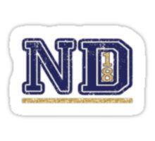 Notre Dame Sticker '18 Sticker