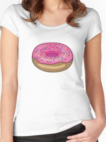 Sprinkle Donut Women's Fitted Scoop T-Shirt