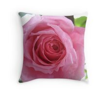 Tethered Rose Throw Pillow