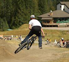 Mountain bike Slopestyle by Hadleigh Thompson