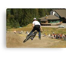 Mountain bike Slopestyle Canvas Print