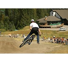 Mountain bike Slopestyle Photographic Print